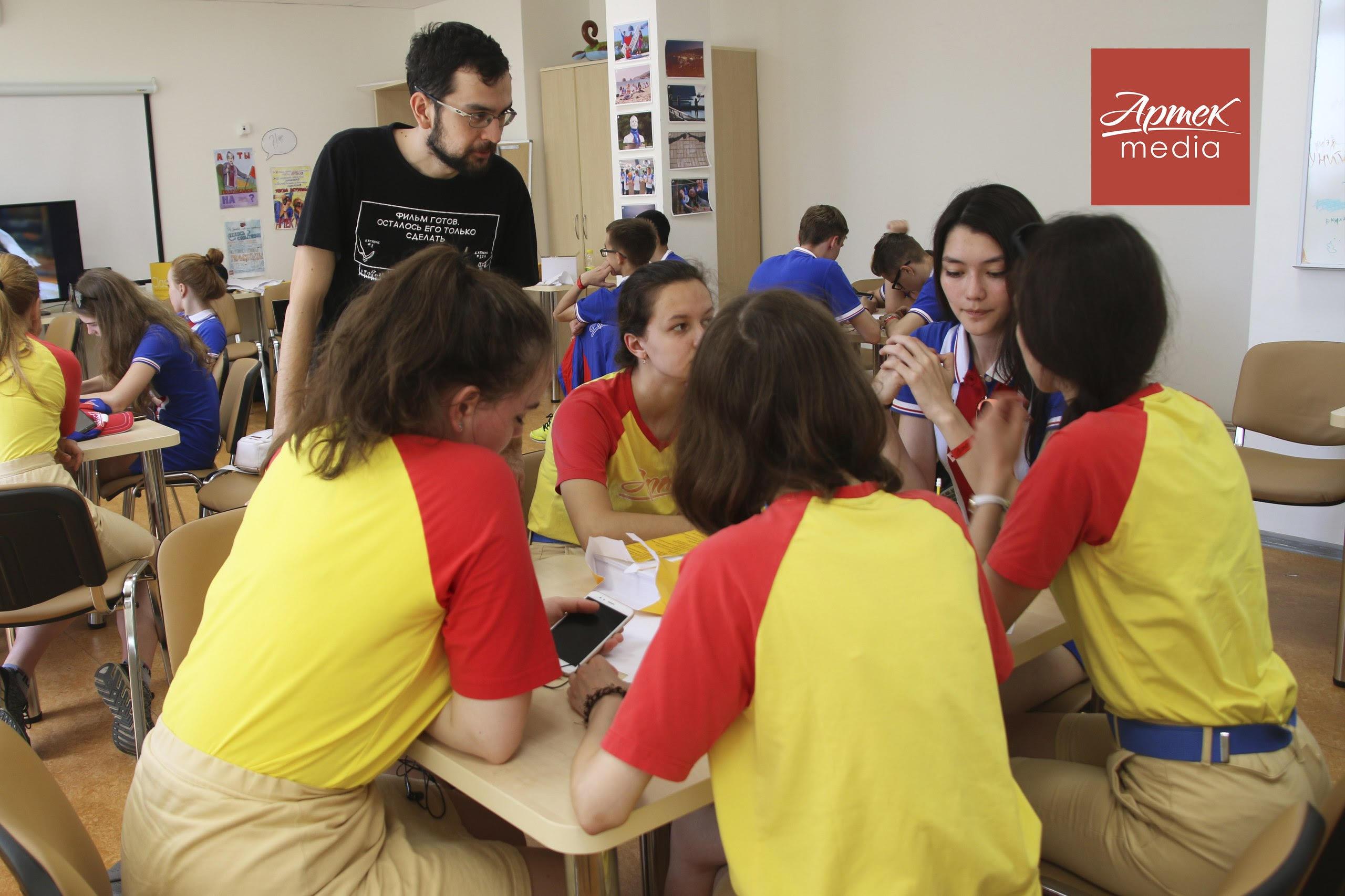 Весенние дни Аниматики прошли в Артеке с 14 по 28 мая при участим педагога Ассоциации анимационного кино