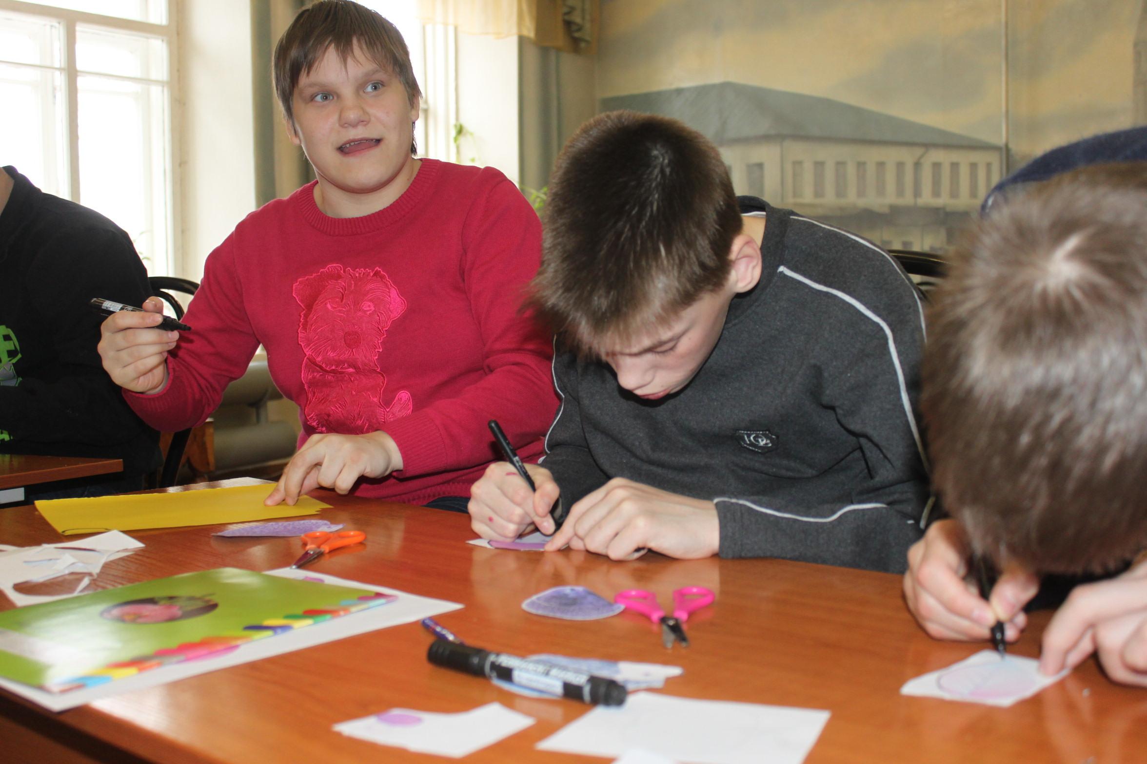 Мастер-классы по основам анимации прошел в интернате для особенных детей в Нерехте