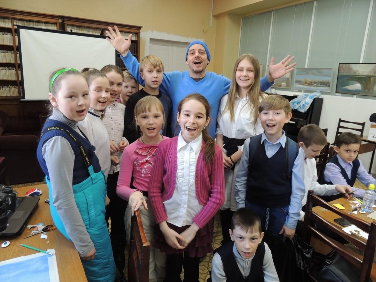 Послы Аниматики в марте побывали в гостях у воспитанников детских студий Ярославля, Каменск-Уральского и Дзержинска
