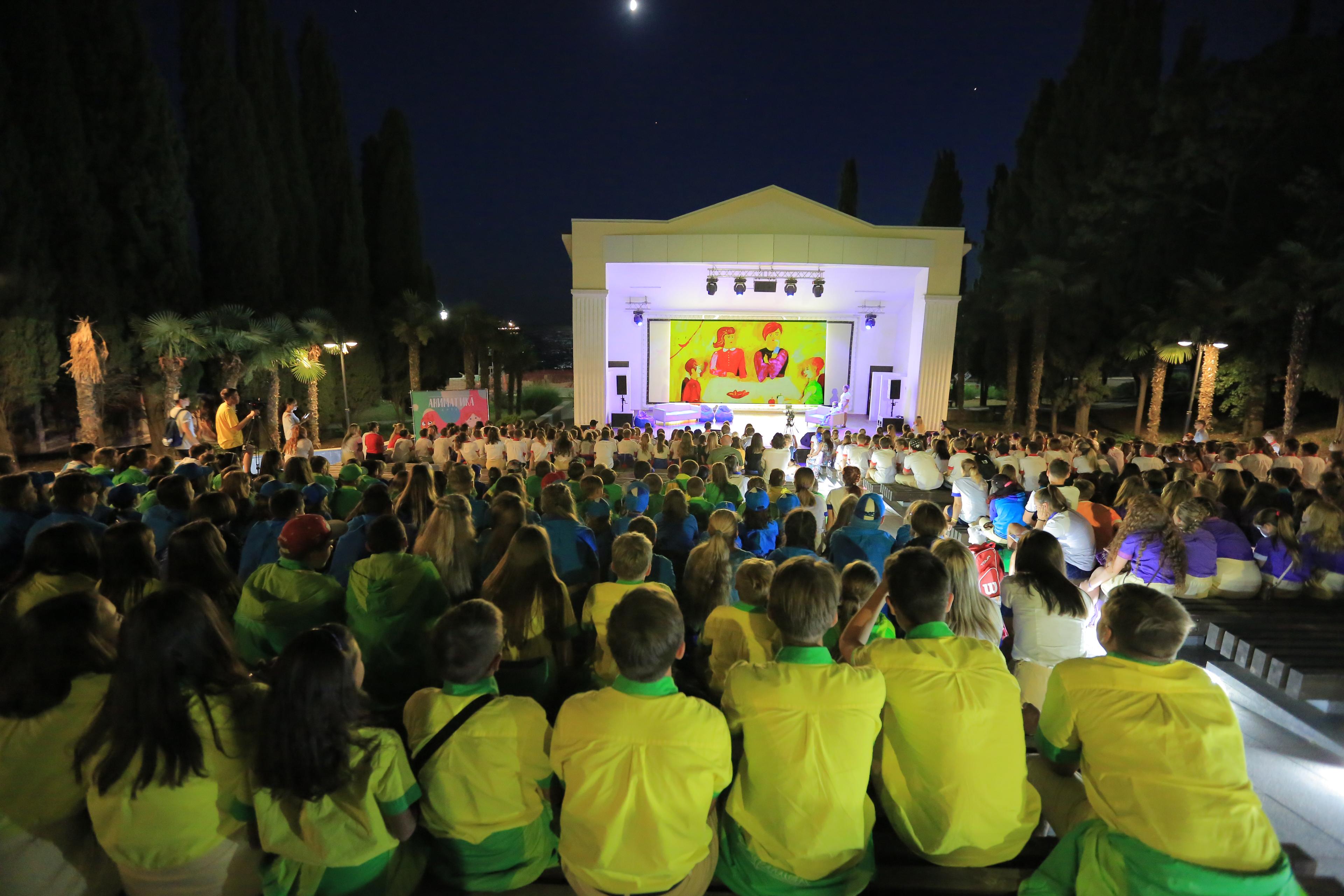 Третий Фестиваль «Аниматика» в Артеке готовит незабываемую программу