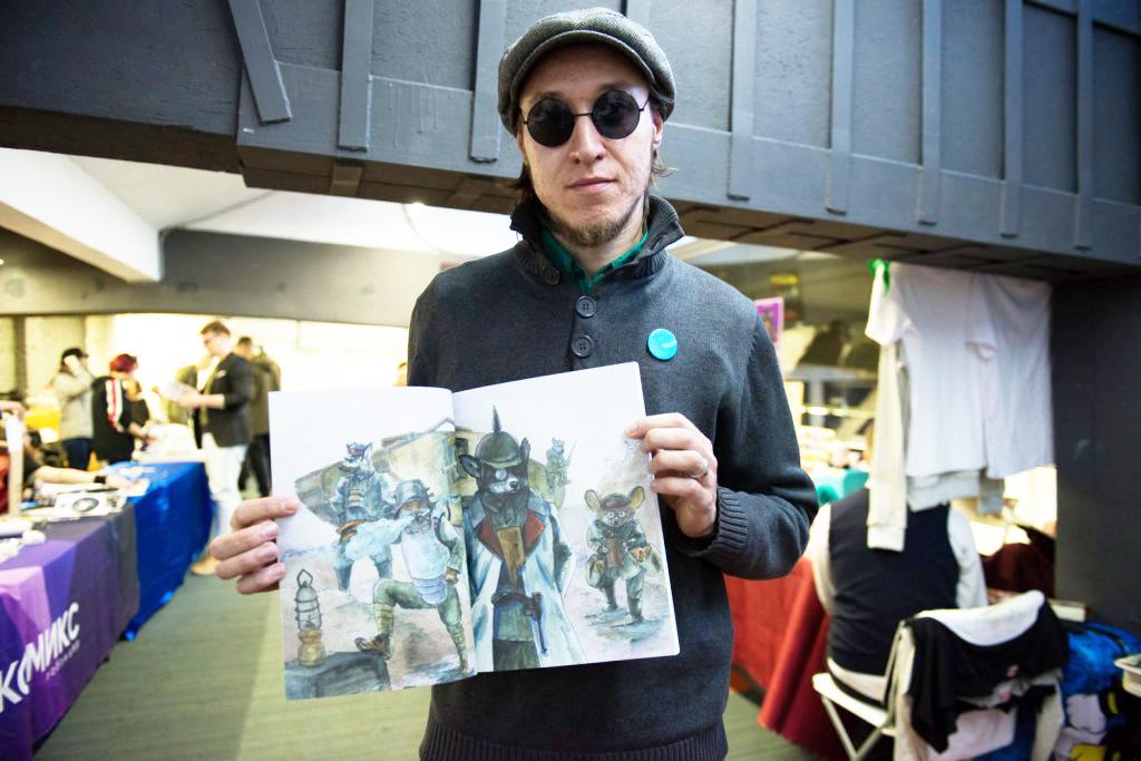 Встречи с художником Алексеем Трошиным в рамках онлайн-марафона «Рисуем комиксы»