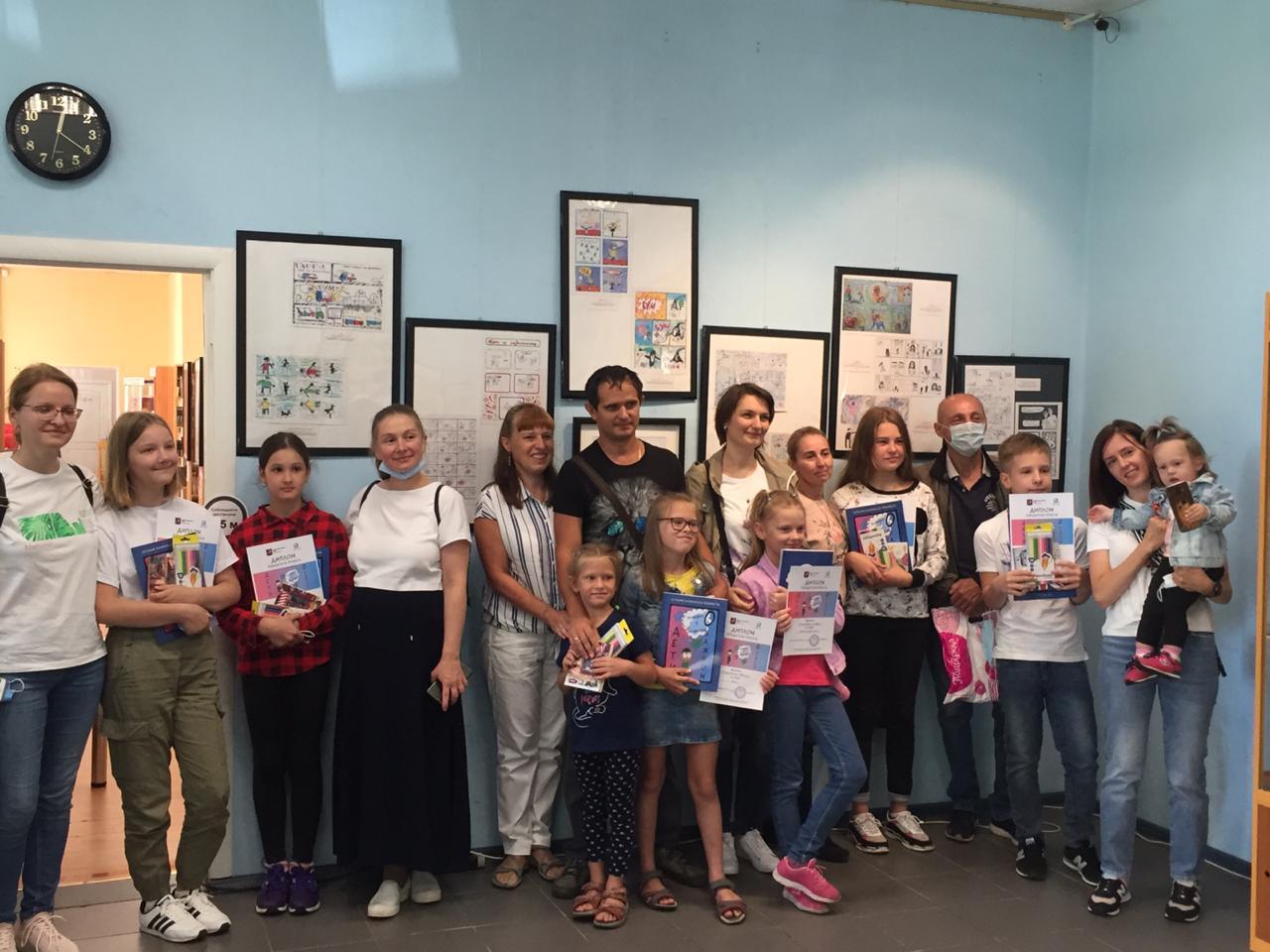 Выставка лучших комиксов проекта «Дети о важном: истории в комиксах» путешествует по Москве